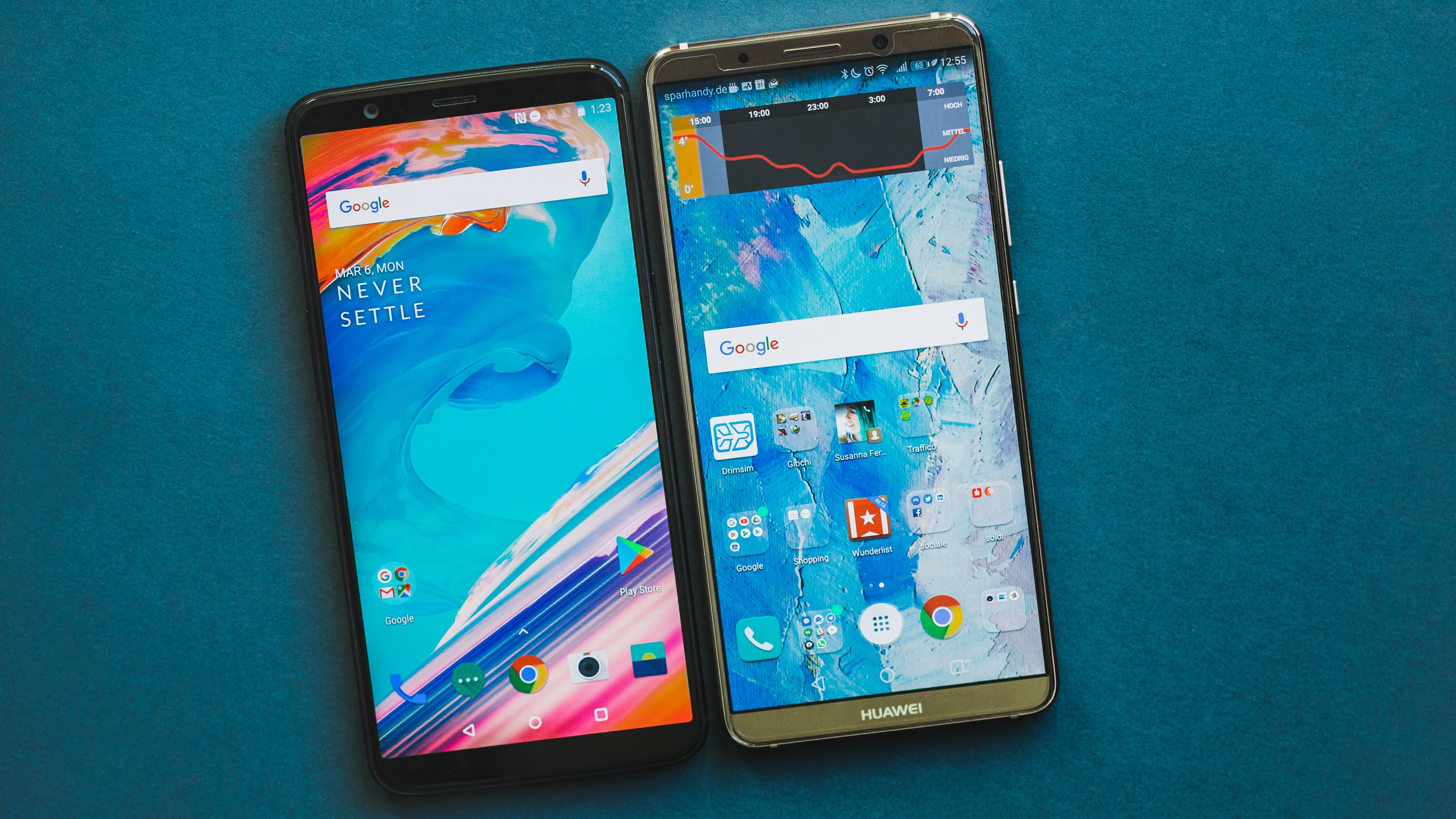 Huawei Mate 10 Pro vs OnePlus 5T: Looking for alternatives