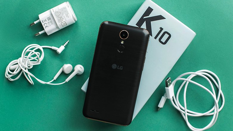 AndroidPIT lg k10 2017 review 4103