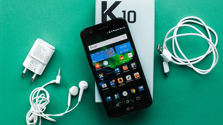 AndroidPIT lg k10 2017 review 4108