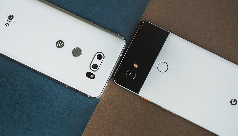 Google Pixel 2 XL vs. LG V30: Welches LG soll's denn sein?