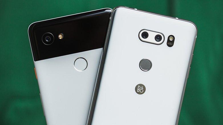 AndroidPIT lg v30 vs google pixel 2 xl 7119