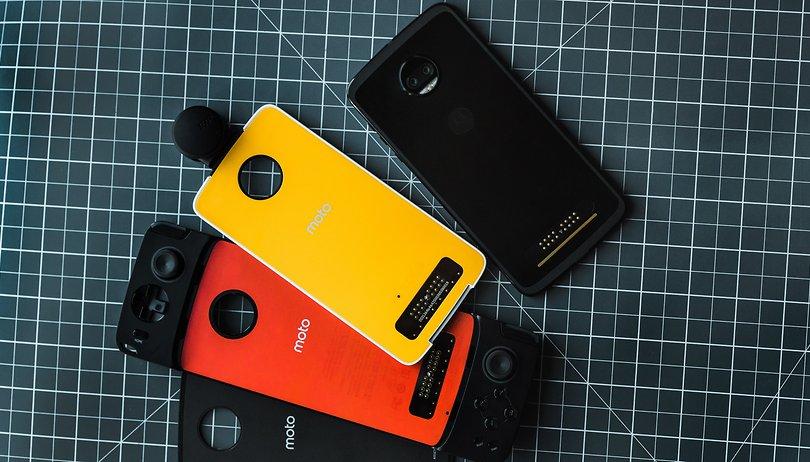 Moto Mods: Ein Scheitern in drei Smartphone-Akten