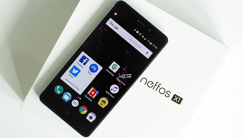 Neffos X1 im Test: gepatzt und nicht gepatcht