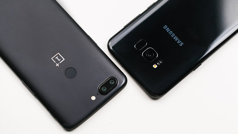 AndroidPIT oneplus 5t vs samsung galaxy s8 plus 6719