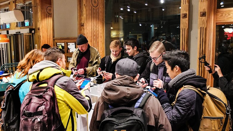 AndroidPIT OnePlus 5T Pop Up Event 4