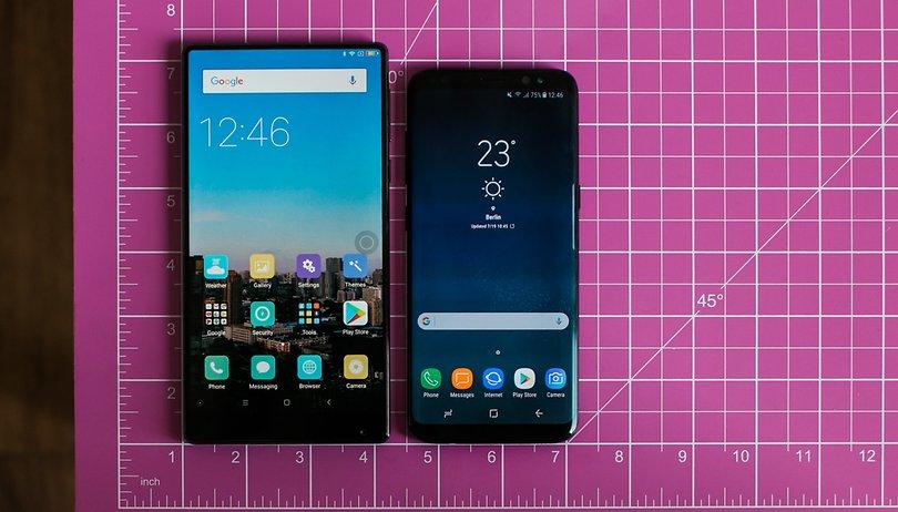 Bezel-less smartphones aren't as novel as you think