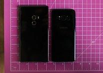 Samsung Galaxy S8 vs Xiaomi Mi MIX: telas gigantes, performances tão distintas?
