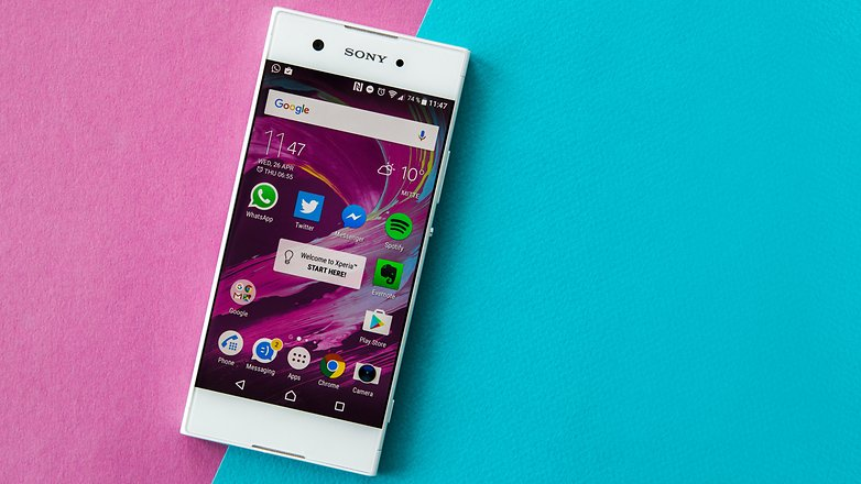 AndroidPIT sony xperia xa1 review 3773