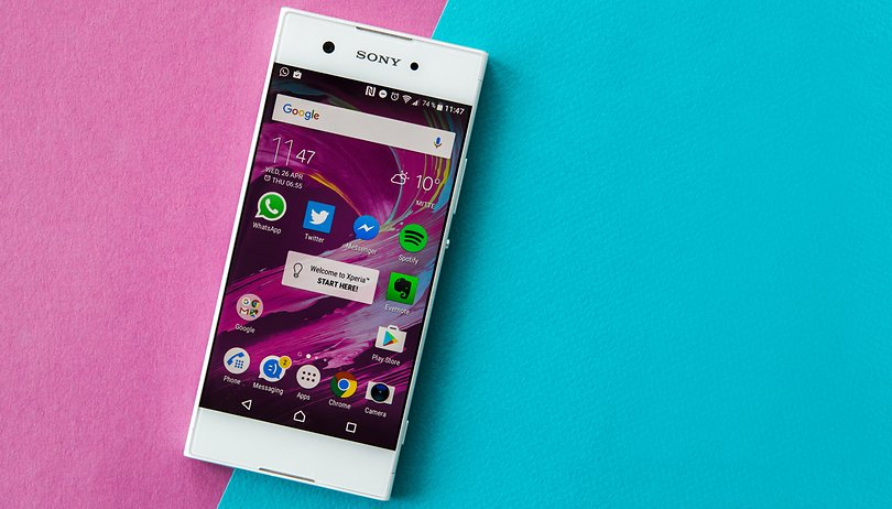 Review do Xperia XA1: valeu a intenção, Sony