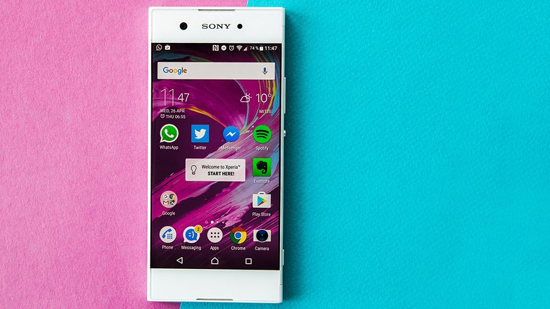 AndroidPIT sony xperia xa1 review 3774
