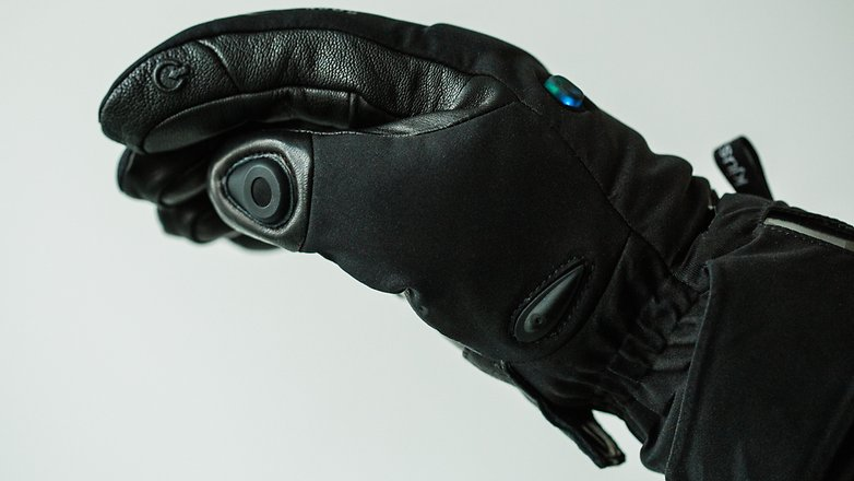 AndroidPIT kjus bluetooth glove 7005