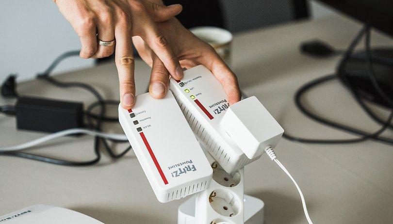 Fritzbox 7590 und AVM-Mesh-Zubehör im Speedtest