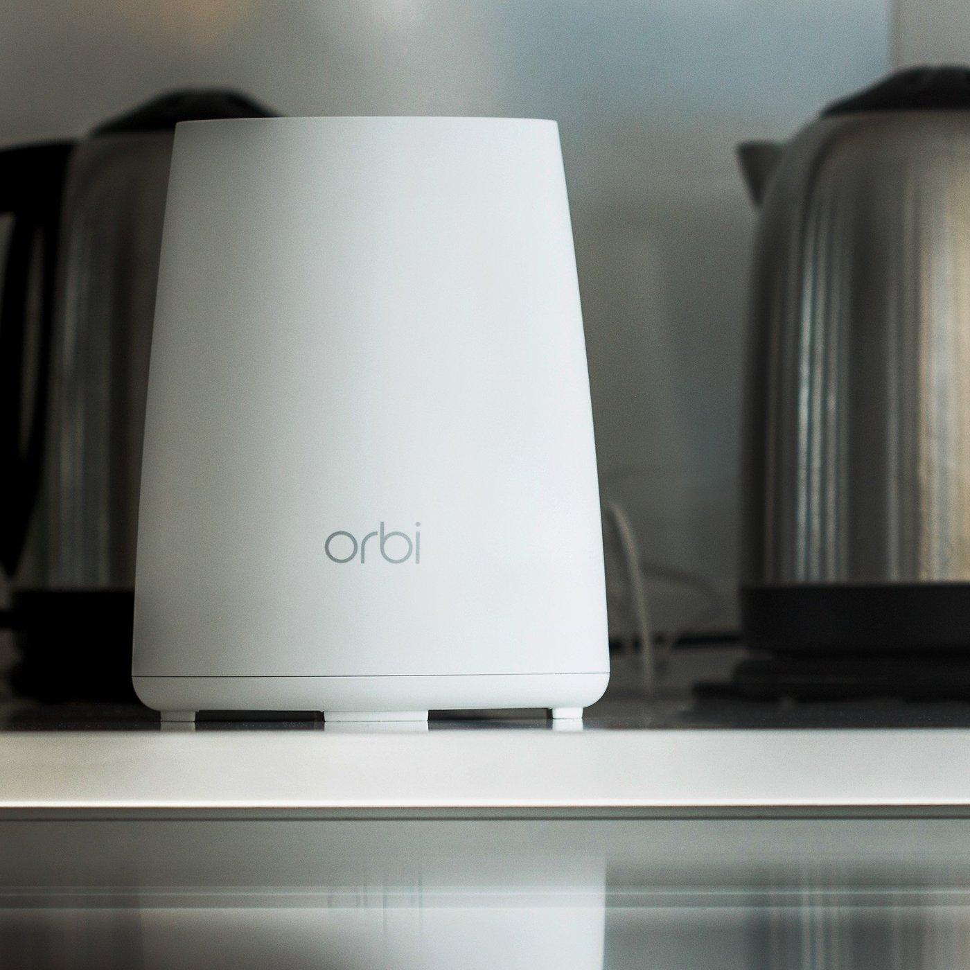 Netgear Orbi RBK40 review: Four times as fast as Google Wifi