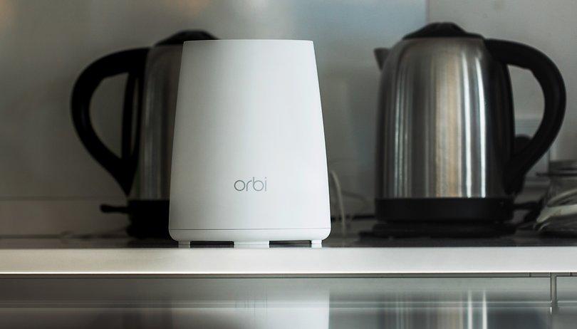 Netgear Orbi RBK40 im Test: Viermal so schnell wie Google Wifi
