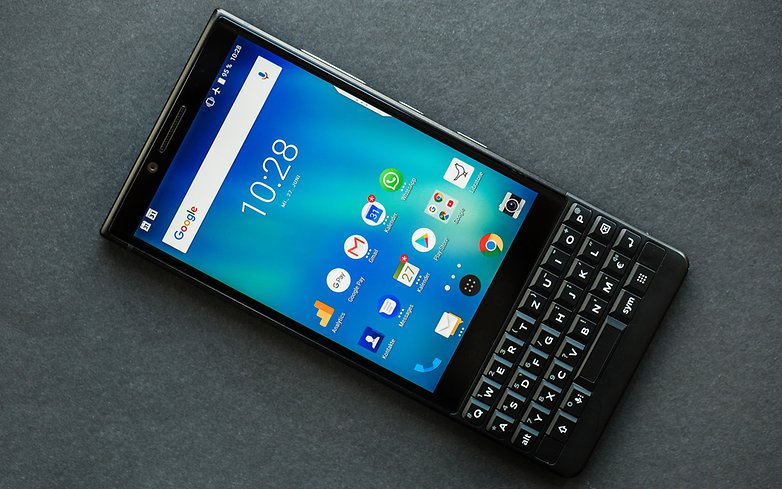 AndroidPIT BlackBerry Key2 Review 9779