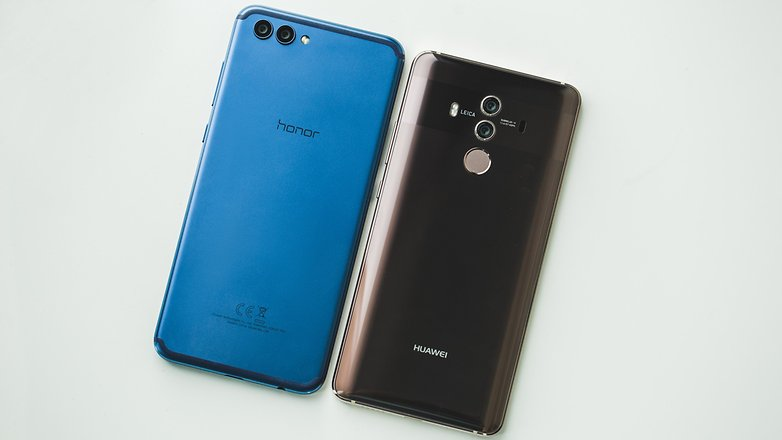 AndroidPIT honor view 10 vs huawei mate 10 pro 9104