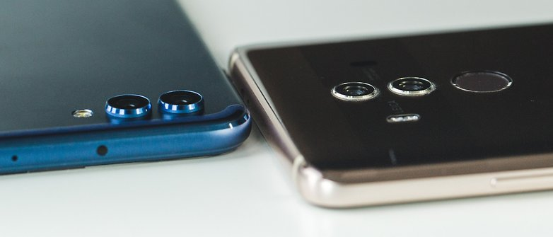 AndroidPIT honor view 10 vs huawei mate 10 pro 9119