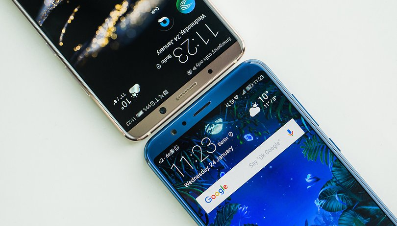 Huawei Mate 10 Pro vs. Honor View 10: More than a marketing gimmick?