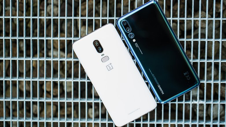 AndroidPIT huawei p20 pro vs oneplus 6 8834