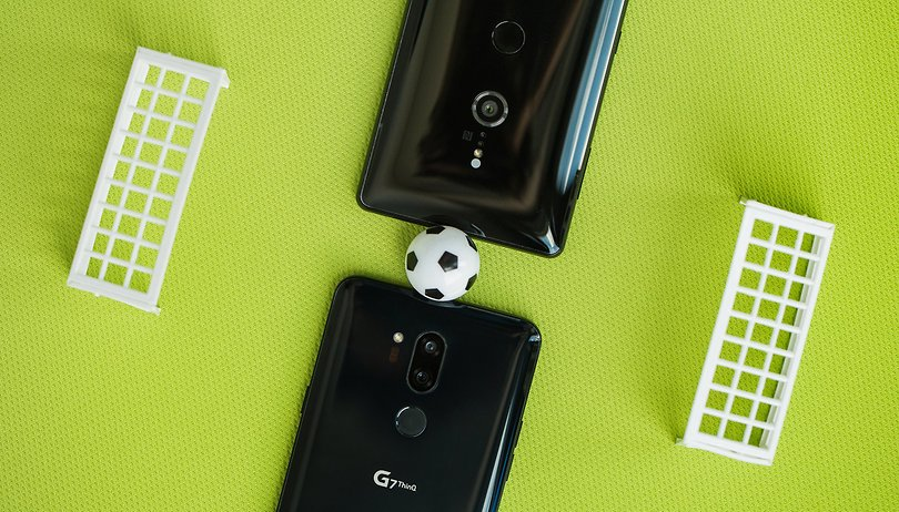 Smartphone World Cup, Round 2: Sony Xperia XZ2 vs. LG G7 ThinQ
