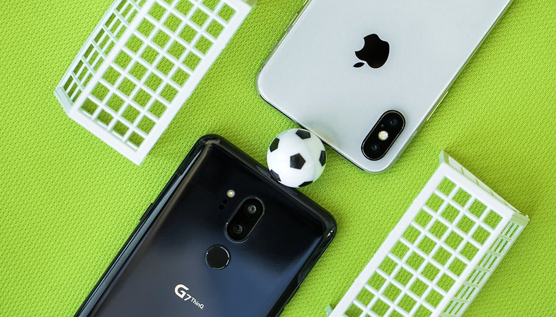 iPhone X vs LG G7: sconfitti a confronto