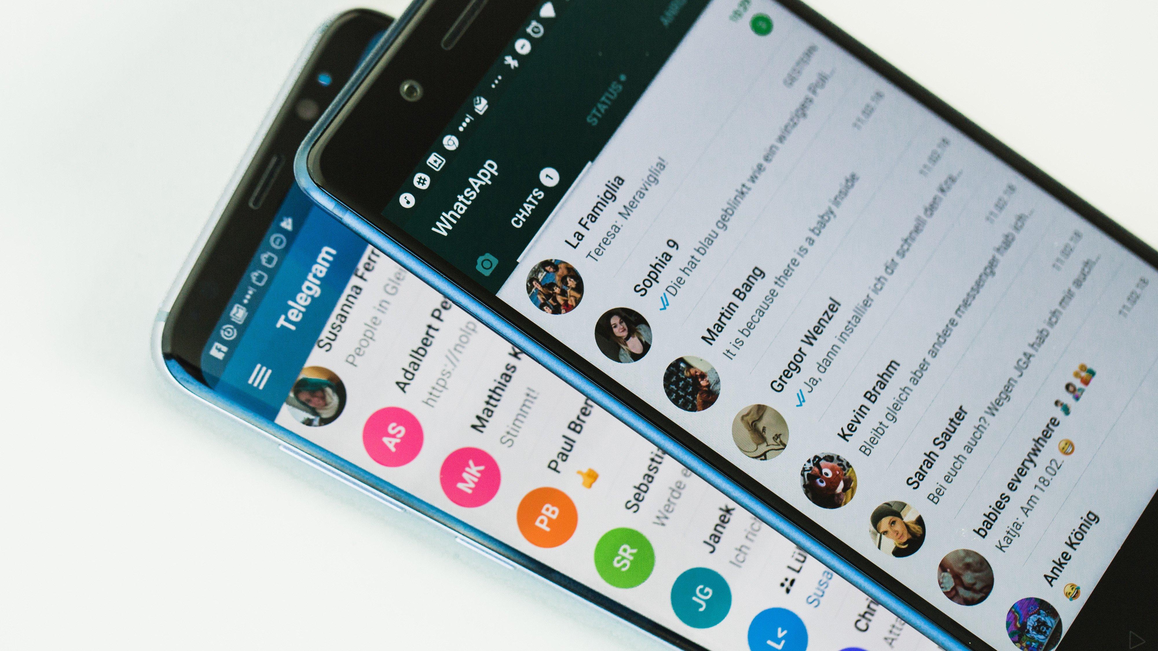 Warum Google für Glück sorgt und Telegram eine Hoffnung ist
