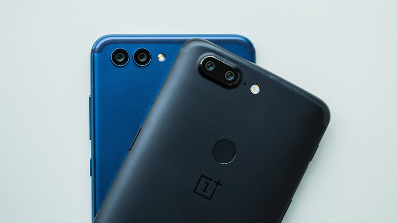 AndroidPIT honor view 10 vs oneplus 5t 8651