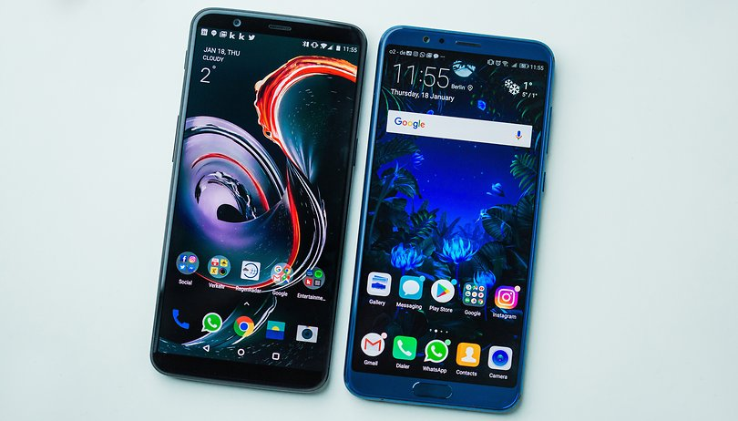 OnePlus 5T vs Honor View 10  : un duel très serré