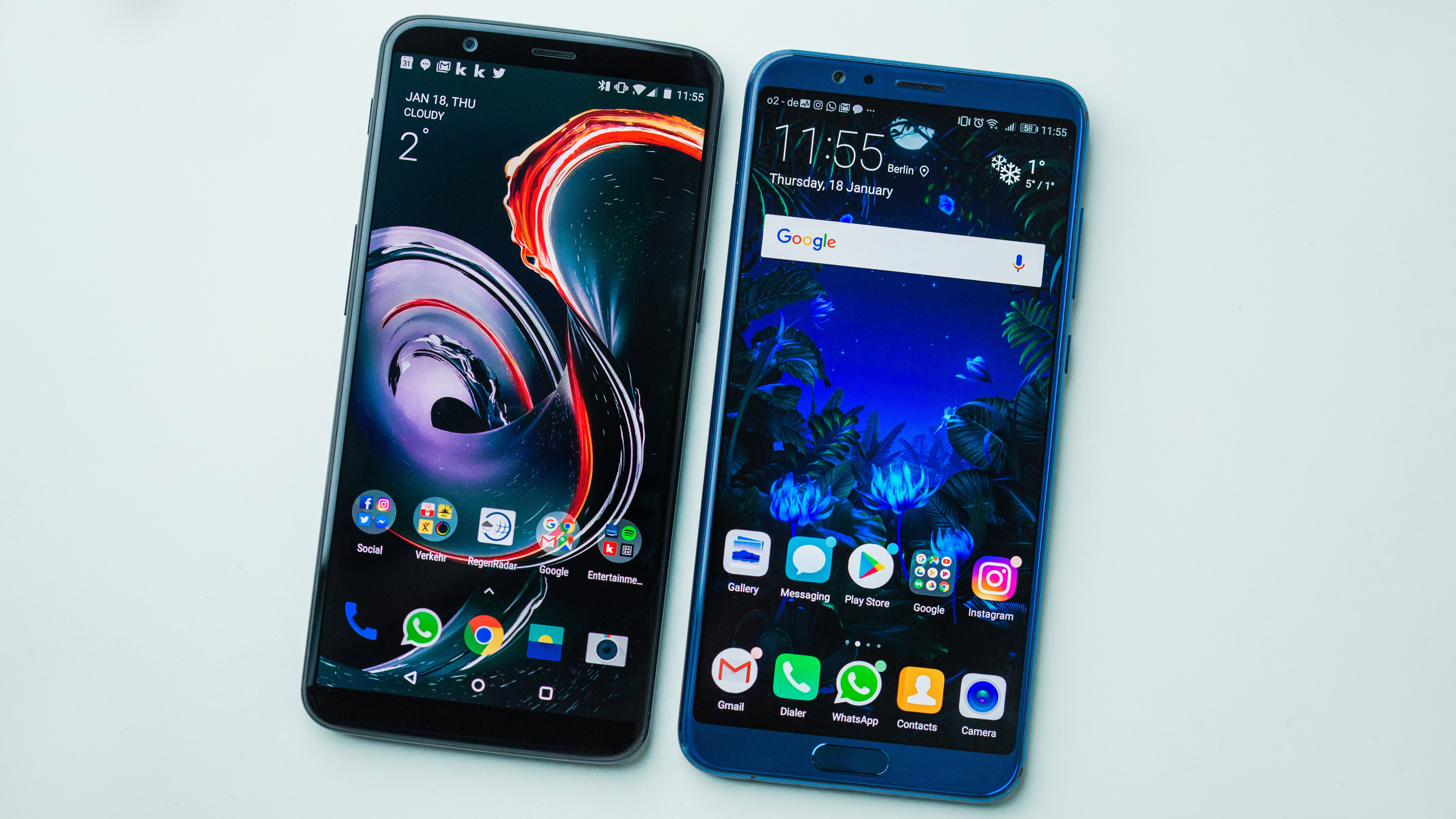 OnePlus 5T vs. Honor View 10: The final shootout