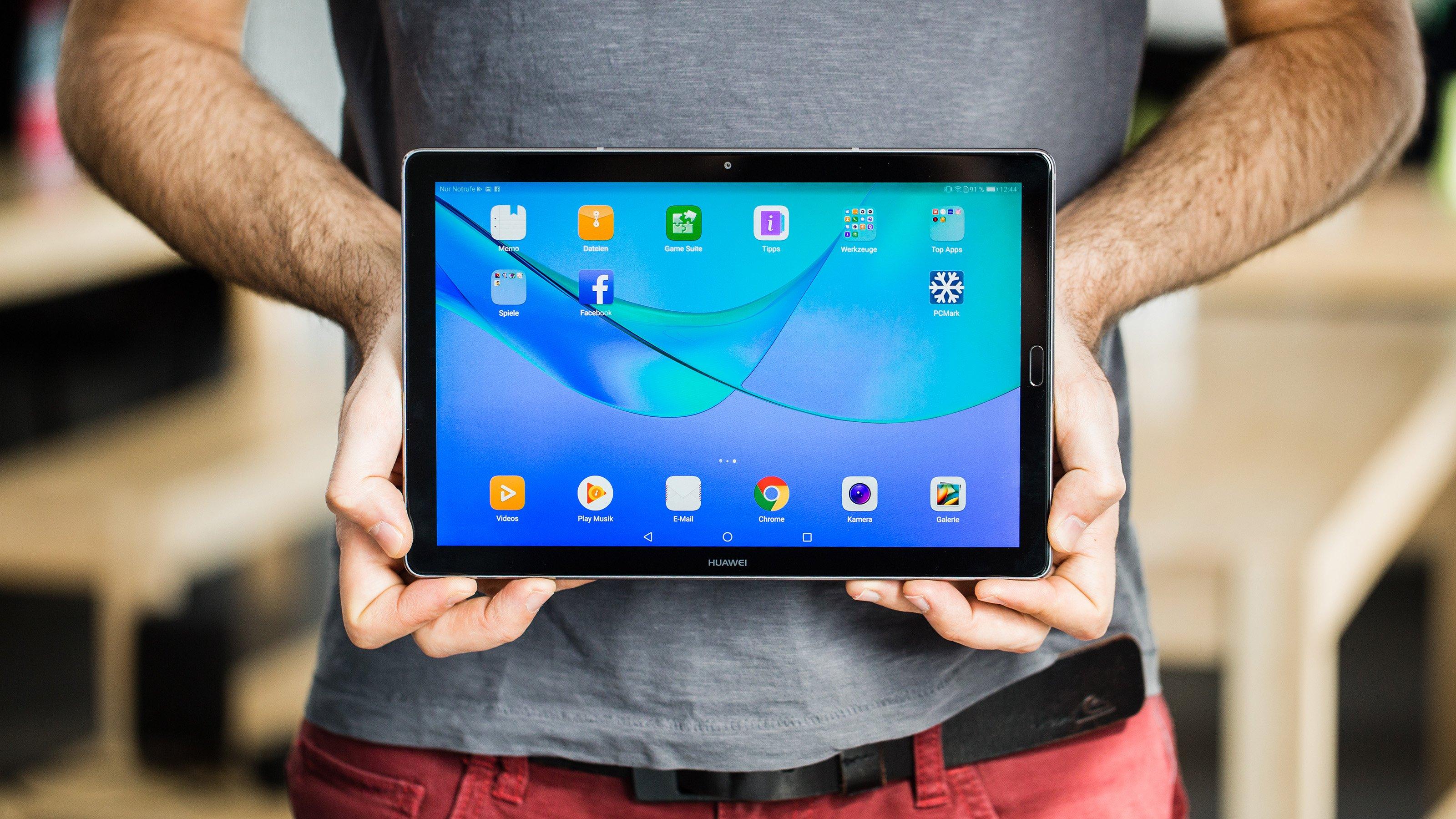 Huawei MediaPad M5 im Test: Frischer Wind im Tablet-Land