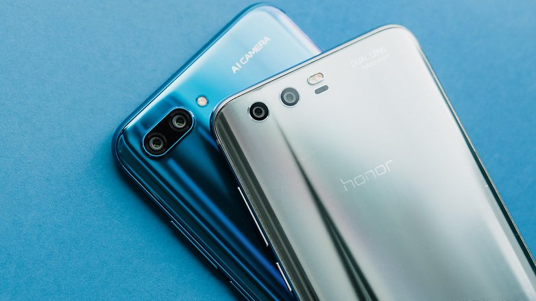 AndroidPIT honor 10 vs honor 9 6588