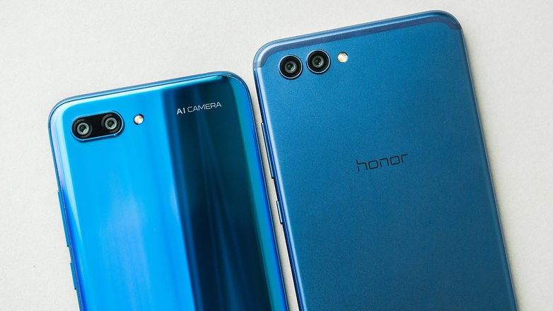 AndroidPIT honor 10 vs view 10 8200