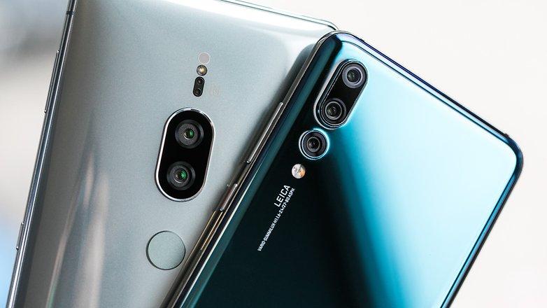 AndroidPIT Huawei P20 Pro vs Sony Xperia XZ2 Premium 8791