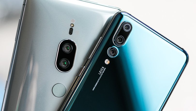 Sony Xperia XZ2 Premium vs Huawei P20 Pro: duel of the night owls