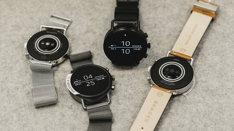 AndroidPIT Skagen fossil group smartwatch 7950