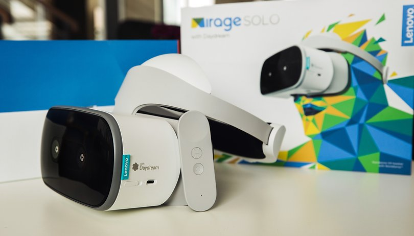 Mirage Solo Daydream headset: VR finally without a smartphone!