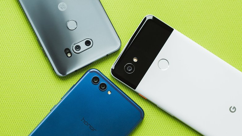 AndroidPIT LG V30S Honor View 10 Pixel 2 XL 2614