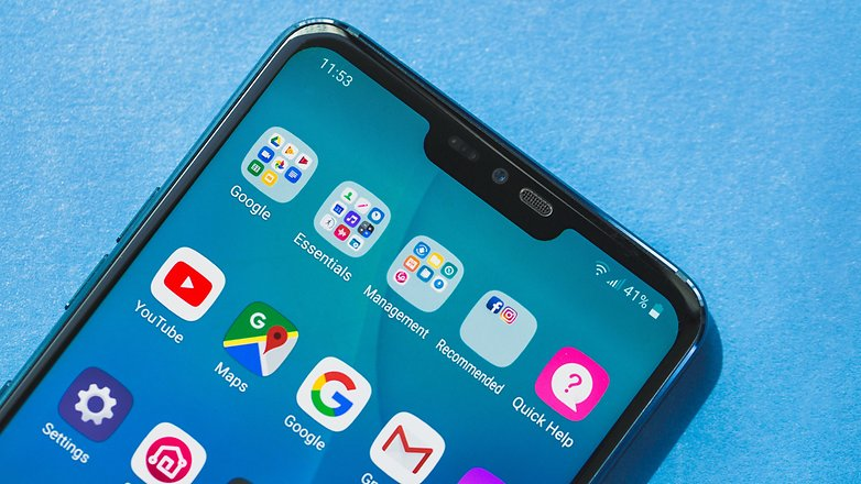 AndroidPIT lg g7 5303