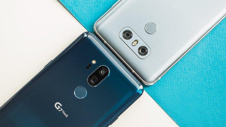 AndroidPIT lg g7 vs lg g6 6235