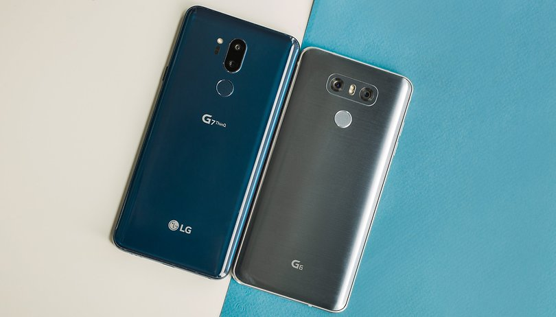LG G6 vs LG G7 ThinQ: a powerful leap to AI