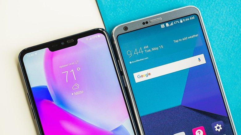 AndroidPIT lg g7 vs lg g6 6266