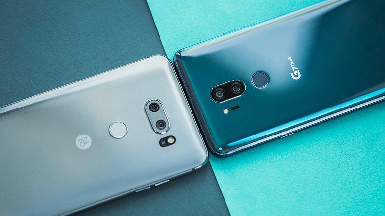 AndroidPIT lg g7 vs lg v30 5421