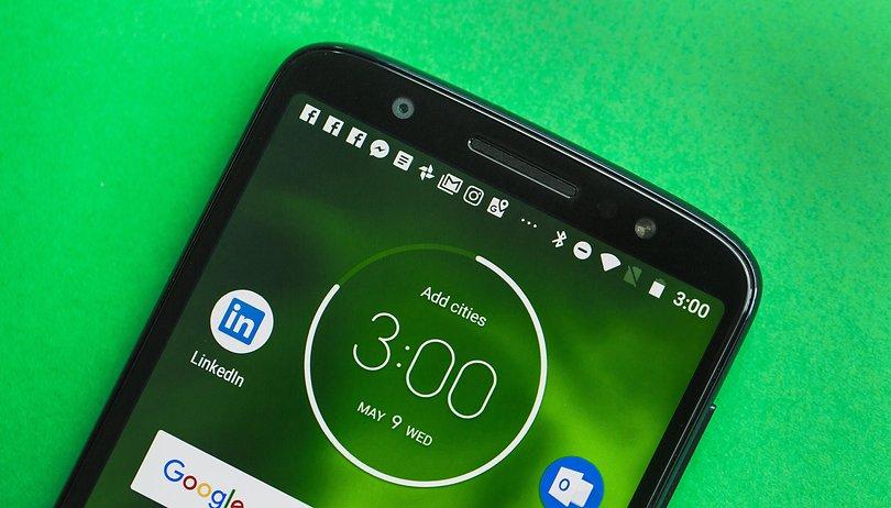 Review do Motorola Moto G6: um intermediário, nada mais