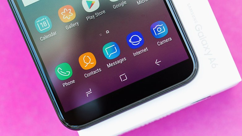 AndroidPIT Samsung Galaxy A6 8770