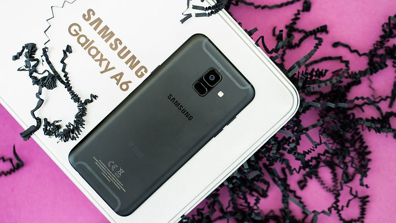 AndroidPIT Samsung Galaxy A6 8794
