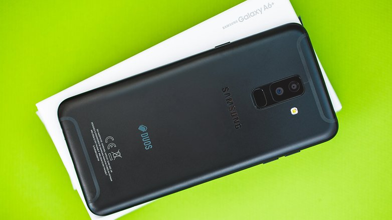AndroidPIT Samsung Galaxy A6 plus 8667