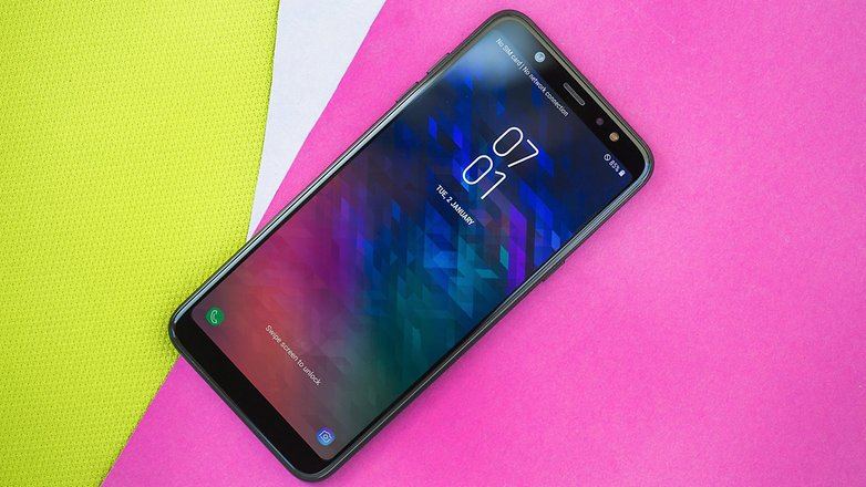 Samsung Galaxy A6 Review Middle Class Pretender Androidpit