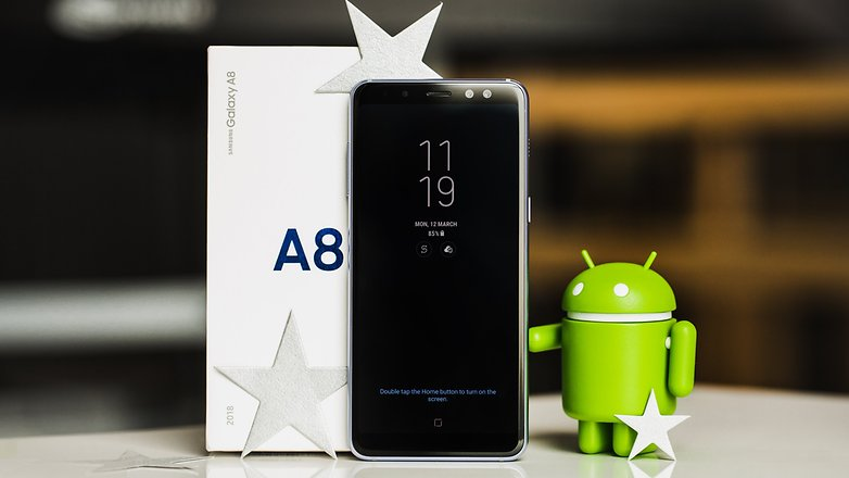 test du samsung galaxy a8 2018 un galaxy s8 plus. Black Bedroom Furniture Sets. Home Design Ideas