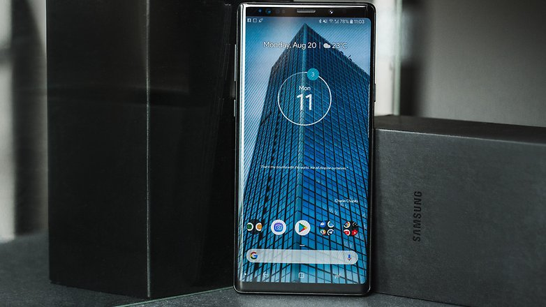 AndroidPIT samsung galaxy note 9 9044
