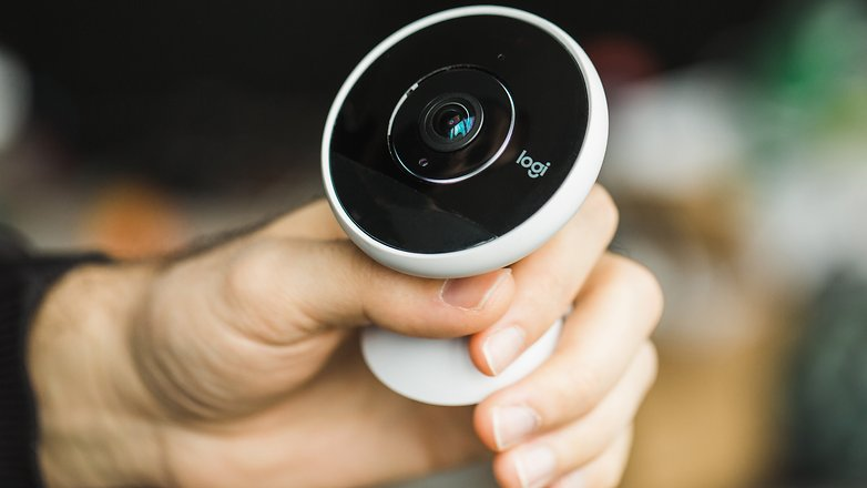 AndroidPIT Logitech Circle 2 security cam 1911